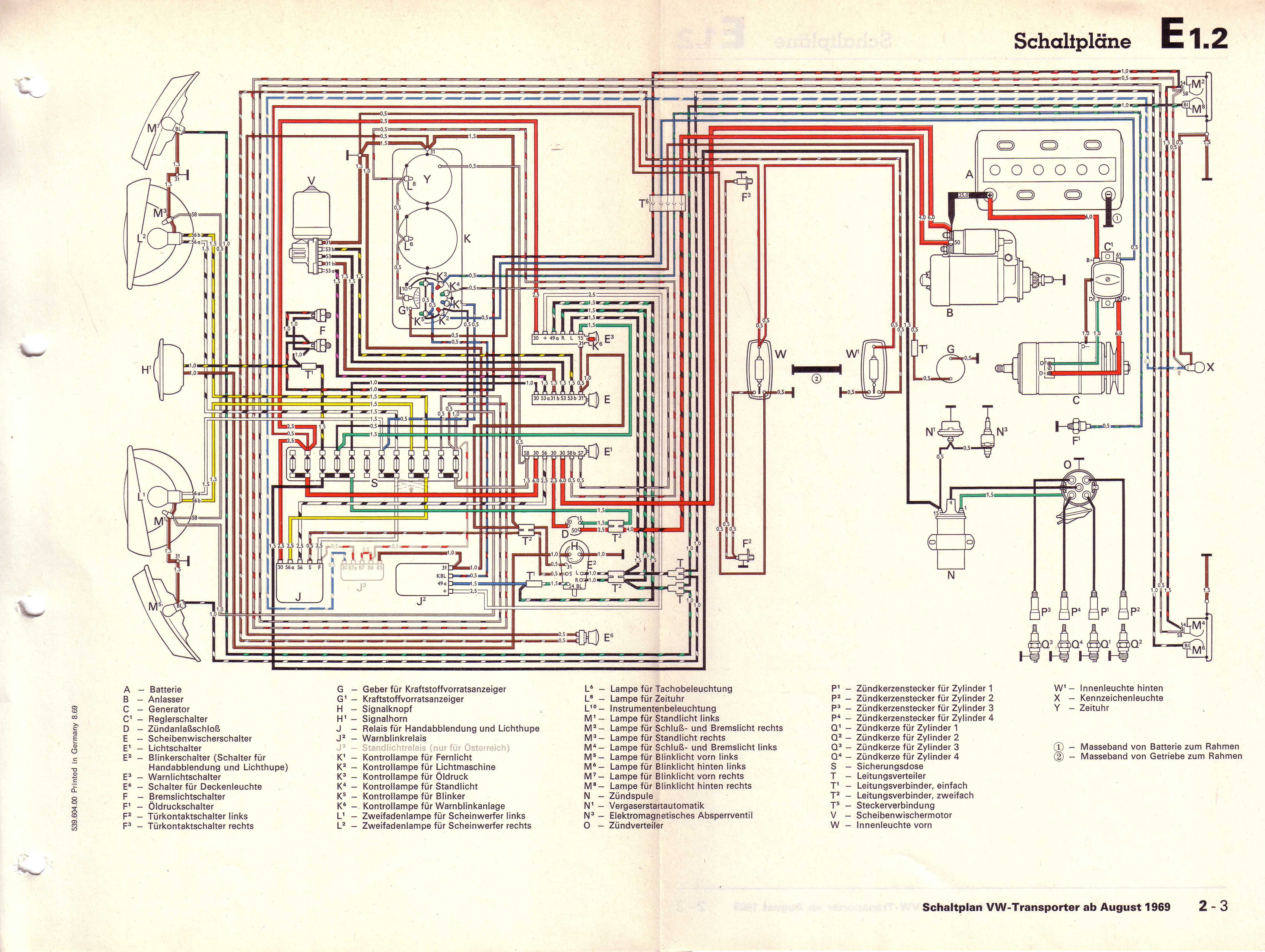 Vw T2 Wiring Diagram 1973 Download Diagrams Super Beetle Engine Get Free Image 73 Bus